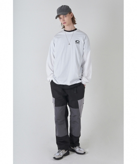 [CRITIC] COLOR BLOCK CARGO PANTS