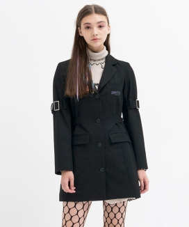 [B ABLE TWO] Belt Detail Jacket Dress