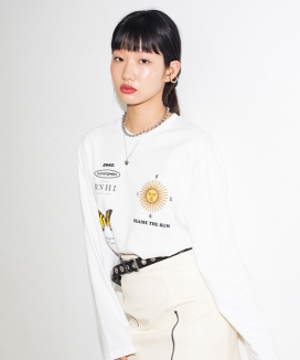 [RUNNING HIGH] RNHI THEORY OVERSIZED TEE