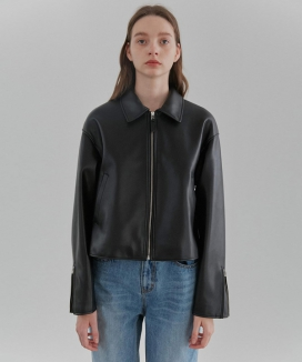 [CURRENT] Single Leather Jacket