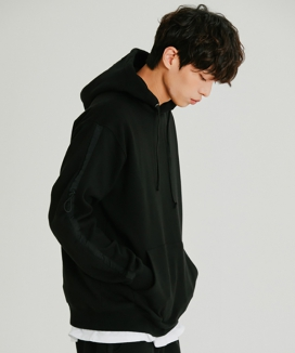 [motivestreet] STRING LINE TRAINING SET HOODIE