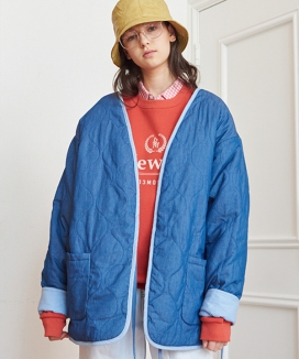 [13month] REVERSIBLE QUILTING JACKET