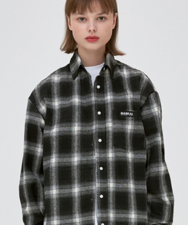 [RASKAL] RETRO OVER CHECK SHIRT