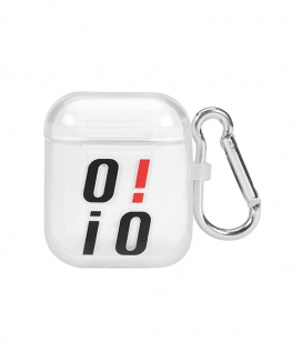 [5252 by oioi] BIG LOGO AIRPODS CASE