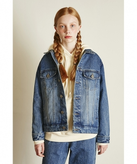 [Between A and B] LOOSE FIT DENIM JACKET