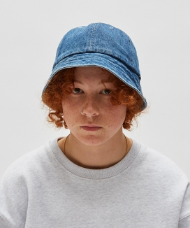 [WKNDRS] DENIM BUCKET HAT