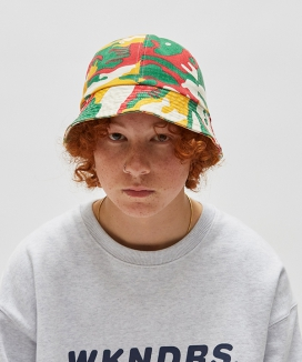 [WKNDRS] CAMO BUCKET HAT
