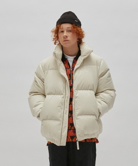 [WKNDRS] VELVET DOWN JACKET