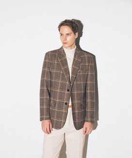 [suare] BUCKINGHAM CHECK JACKETS