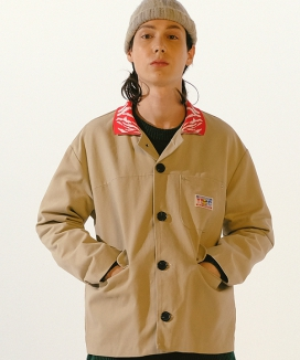 [youthbath] Mix_match ZB_collar cotton jacket_TJ01