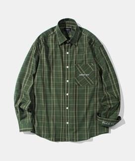 [Diamond Layla] レイラブラインドフォーラブ カラーヘリンボーン チェックシャツ S47