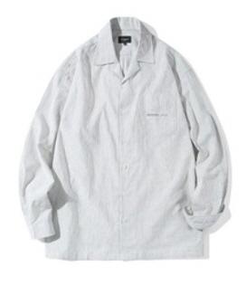 [Diamond Layla] ビンテージストライプ オープンカラーシャツ S50