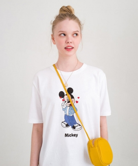 [MAINBOOTH] Mickey Mouse Family T-shirt / ミッキーマウスファミリーティーシャツ