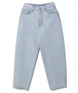 [motivestreet] Wide balloon Denim Pants / ワイドバルーンデニムパンツ