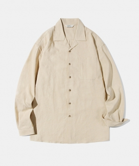 [Diamond Layla] Layla blind for love Basic Linen shirt S60 / ベーシックリネンシャツS60