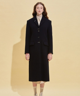 [RSVP] BUTTON HALL DETAIL NEW-LOOK COAT / ボタンホールディテール ニュールックコート