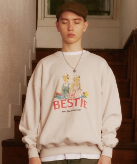 [MAINBOOTH] The Bestie Sweatshirt / The Bestie スウェットシャツ