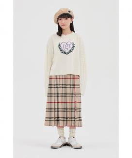 [TARGETTO] [TGT X RMTCRW]LONG PLEATS SKIRT / ロングプリーツスカート
