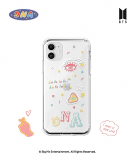[supergoods] BTS DNA theme Clear TPU Case - LALALA / BTS MIC Dropテーマ クリアソフトケース(LALALA)