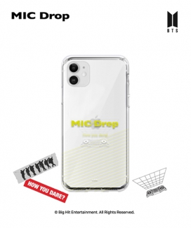[supergoods] BTS MIC Drop theme Clear TPU Case - RECORD / BTS MIC Dropテーマ クリアソフトケース(RECORD)