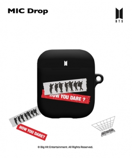 [supergoods] BTS MIC Drop theme AirPods case - SILHOUETTE / BTS MIC DropテーマAirPodsケース(SILHOUETTE)