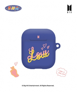 [supergoods] BTS DNA theme AirPods case -LOVE LETTERING / BTS DNAテーマ AirPodsケース(LOVE LETTERING)