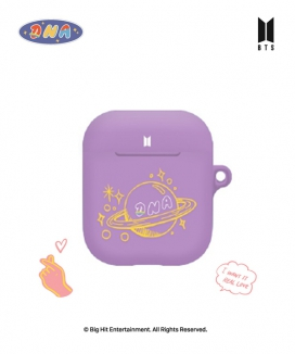 [supergoods] BTS DNA theme AirPods case -PURPLE / BTS DNAテーマ AirPodsケース(PURPLE)
