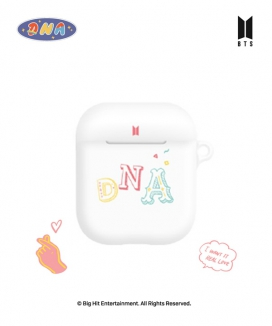[supergoods] BTS DNA theme AirPods case -LALALA / BTS DNAテーマ AirPodsケース(LALALA)