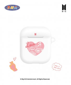 [supergoods] BTS DNA theme AirPods case -HEART / BTS DNAテーマ AirPodsケース(HEART)