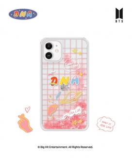 [supergoods] BTS DNA theme Glitter Phone Case - FOREVER LOVE / BTS グリッターPhoneケース(FOREVER LOVE)