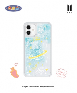 [supergoods] BTS DNA theme Glitter Phone Case - UNIVERSE / BTS グリッターPhoneケース(UNIVERSE)