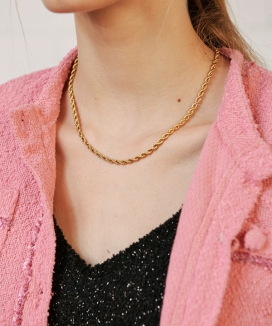 [13month] ROPE CHAIN NECKLACE / ロープチェーンネックレス
