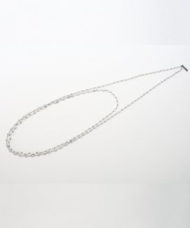 [13month] PEARL LONG NECKLACE / パールロングネックレス