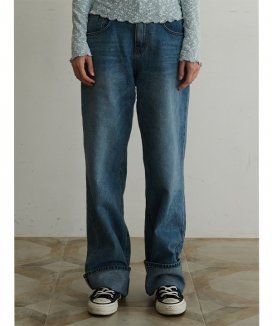 [TMO BY 13MONTH] WIDE LEG JEANS / ワイドレッグ ジーンズ