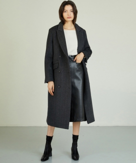 [ANEDIT] ダブルウールコート / AE_Double Wool Coat