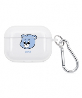 [CHUCK] CHUCKベアフェイス AirPodsPROクリアケース / CHUCKBEAR FACE AIRPODS PRO CLEAR CASE