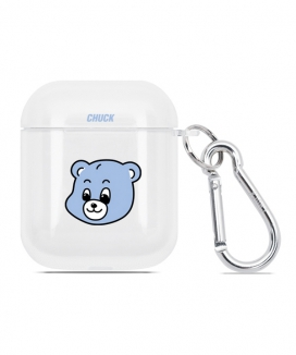 [CHUCK] CHUCKベアフェイスAirPodsクリアケース / CHUCKBEAR FACE AIRPODS CLEAR CASE