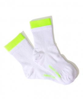 [PERFECTCORNER] 蛍光ダブルレイヤーソックス(NO FILE) / PERFECTCORNER FLUORESENCE DOUBLE LAYER SOCKS(NO FILE)
