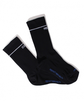 [PERFECTCORNER] センターロゴラインソックス(NO FILE) / PERFECTCORNER CENTER LOGO LINE SOCKS(NO FILE)