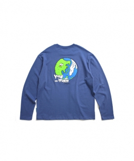 [PIECEMAKER] アース 長袖ティーシャツ[EZwithPIECE] / [EZwithPIECE] EARTH LS