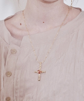 [Vi/Ve] ビンテージクロス キューネックレス / Vintage Cross Cue Necklace