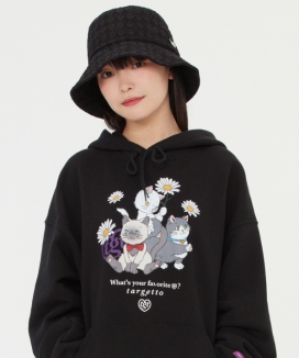 [TARGETTO] キャットフレンズフーディ / CAT FRIENDS HOODIE
