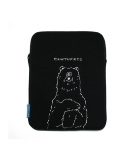 [PIECEMAKER] ポーラーベア タブレットポーチ [EZwithPIECE] / [EZwithPIECE] POLAR BEAR TABLET POUCH