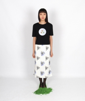 [PLZPROJECT] スピーディラビットスカート / [PLZPROJECT] speedy rabbit skirt