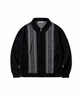 [5252 by oioi] ポロネックジップアップカーディガン / POLO NECK ZIPUP CARDIGAN