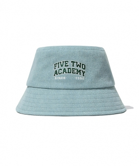 [5252 by oioi] FIVETWOデニムバケットハット / FIVETWO DENIM BUCKET HAT