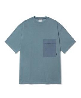 [Diamond Layla] コントラストポケットショートスリーブティーシャツ(T49) / Contrast Pocket Short-Sleeve T49
