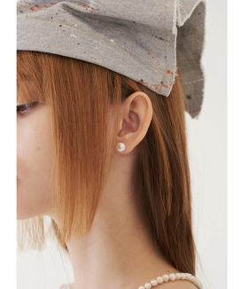 [TMO BY 13MONTH] ビッグサイズ パールイヤリング / BIG SIZE PEARL EARRING