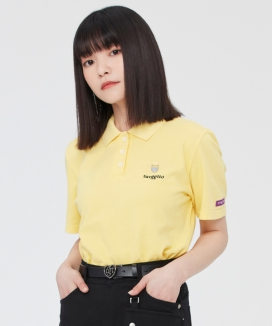 [TARGETTO] ハートリングポロシャツ / HEART RING PIQUE SHIRT
