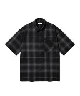 [Diamond Layla] ベールビッグチェックシャツ S79 / Veiled Big Check Shirt S79